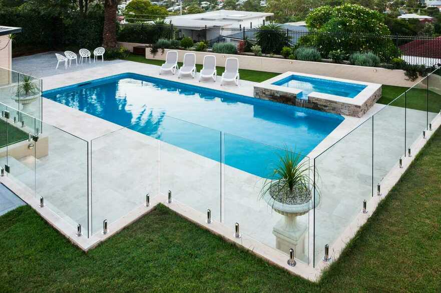 parramatta frameless glass fence